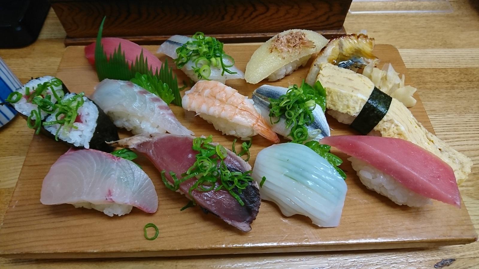 和歌寿司:にぎり定食大