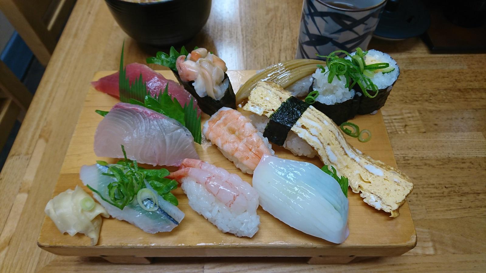 和歌寿司:にぎり定食