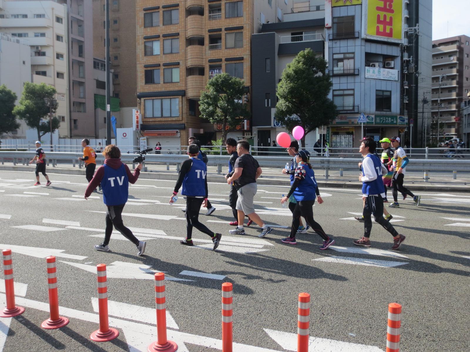 大阪マラソン2018:小杉竜一