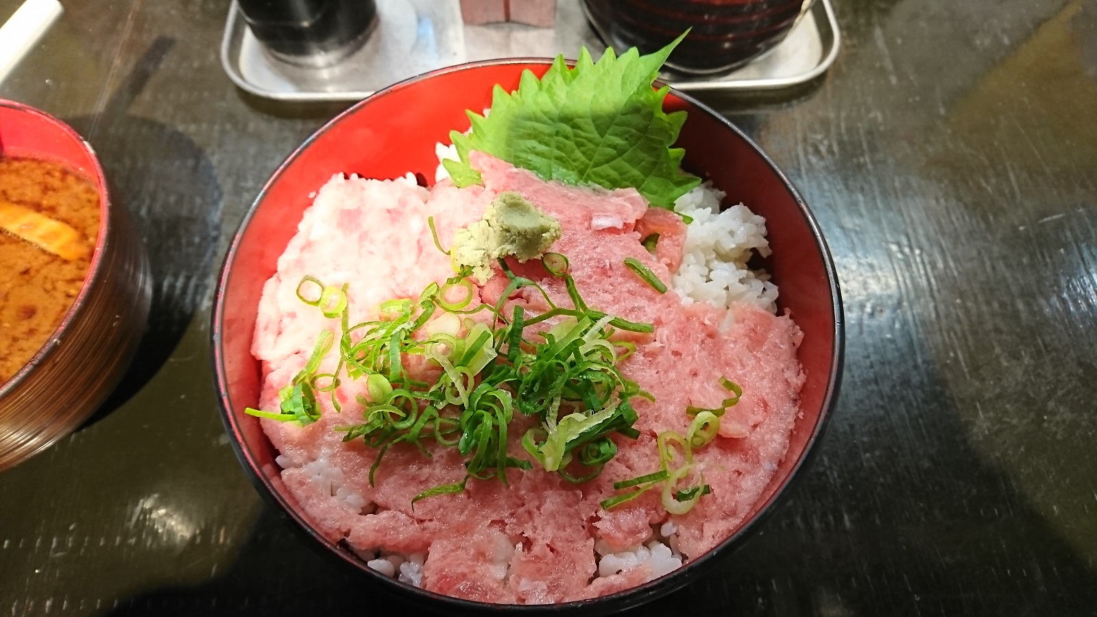 立ち寿司:ネギトロ丼