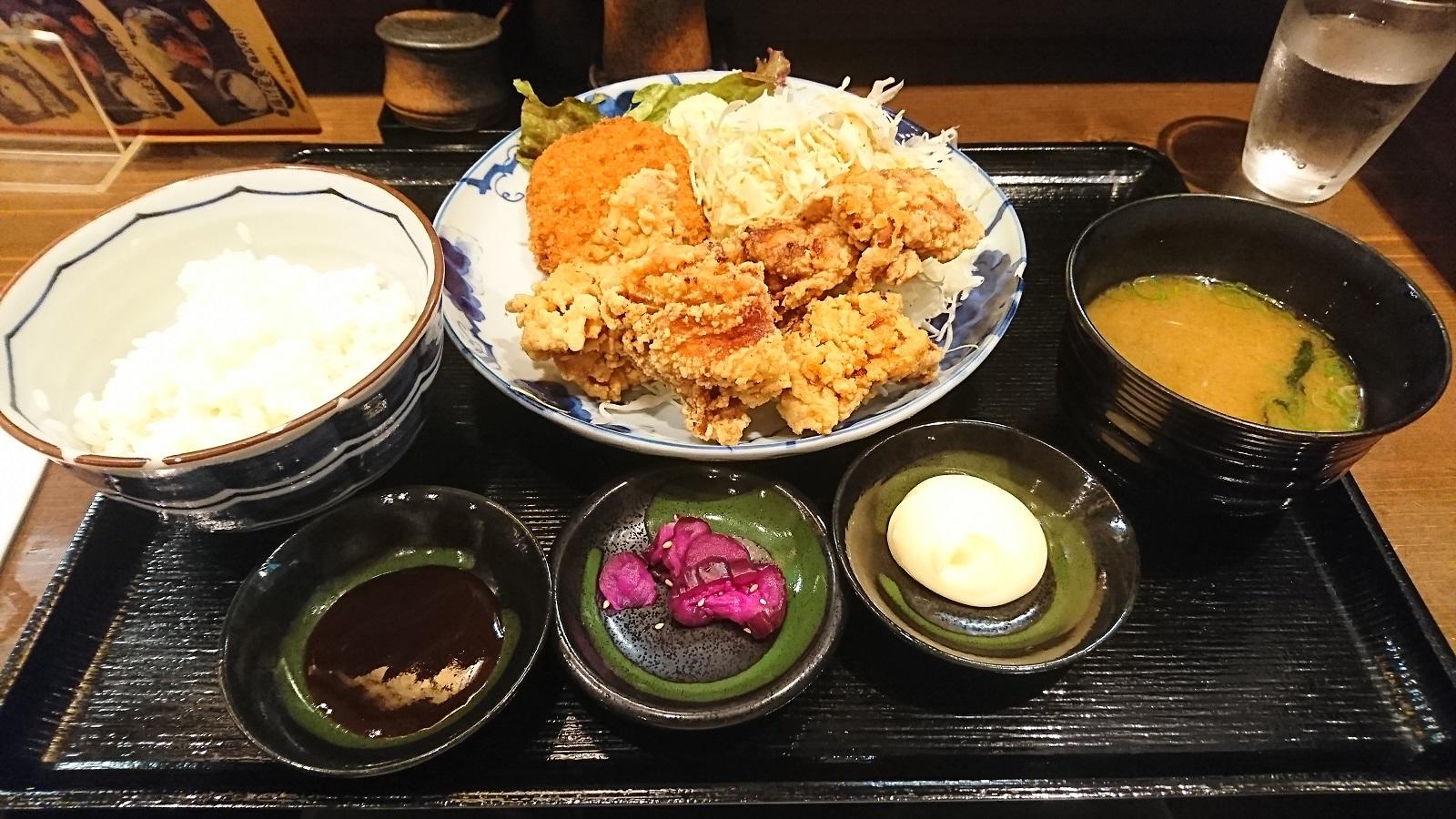 誠三朗:カラコロ定食