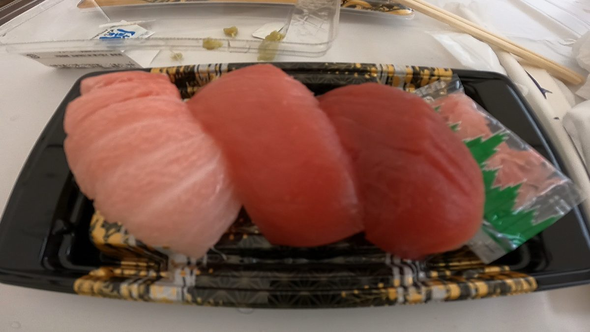 道頓堀リバーフェスティバル:お寿司2