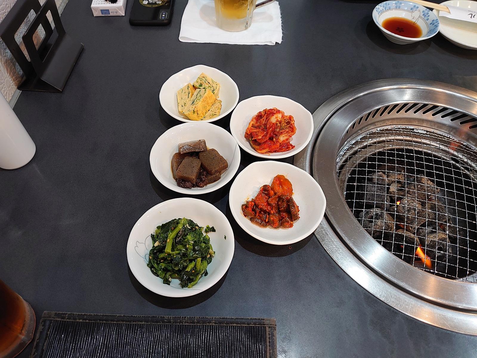 韓国家庭料理ソウル:料理