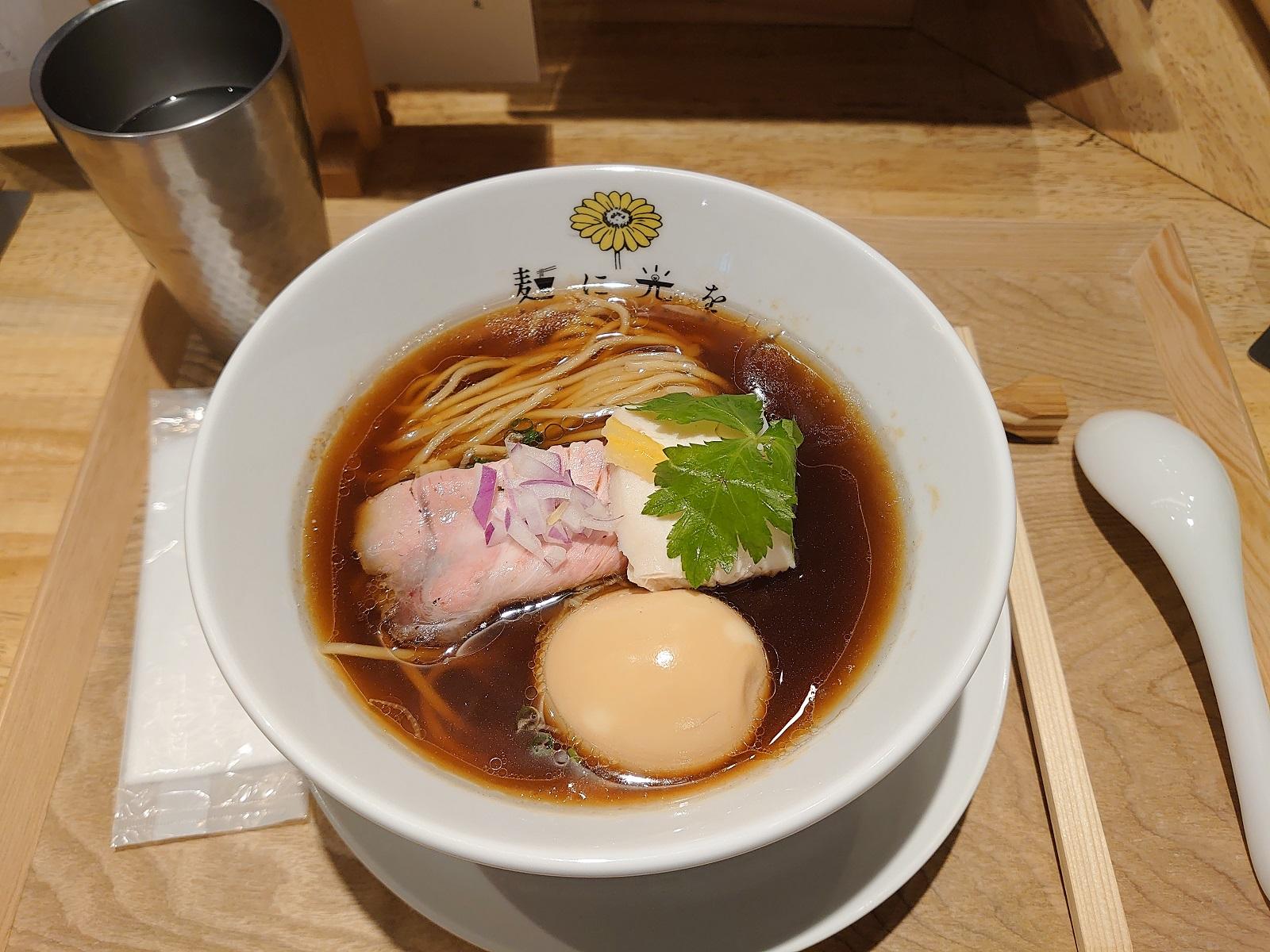 麺に光を別邸:醤油